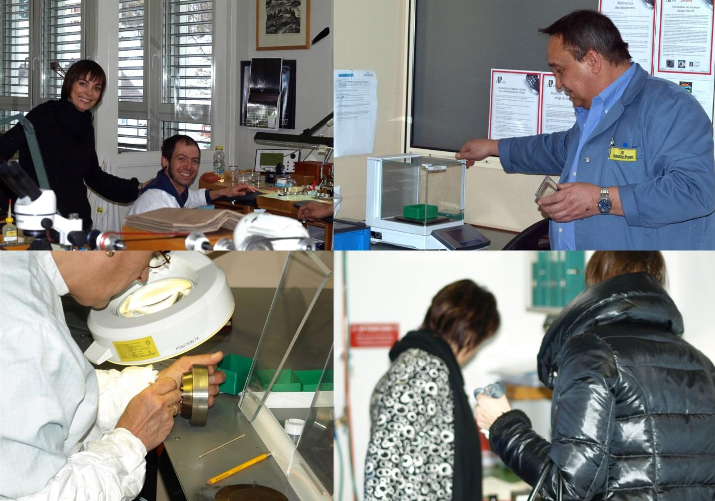 Scenes from Audemars Piguet factory 2009