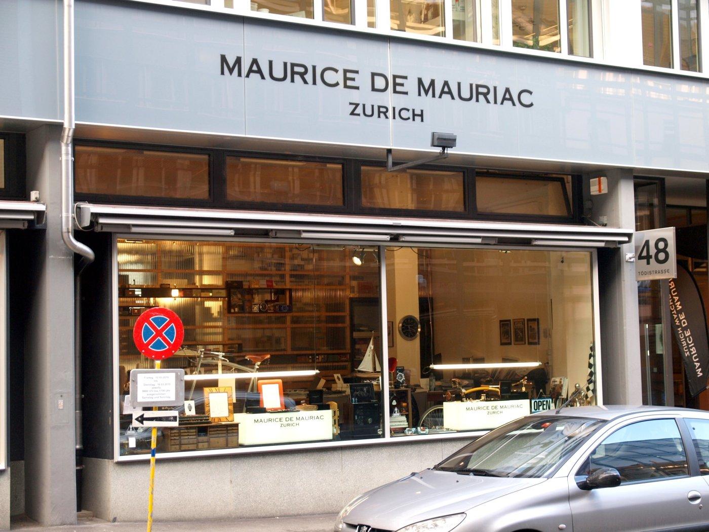 Maurice de Mauriac Zurich Atelier Tour