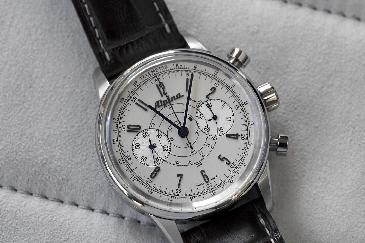 The Alpina 130 Pilot Chronograph