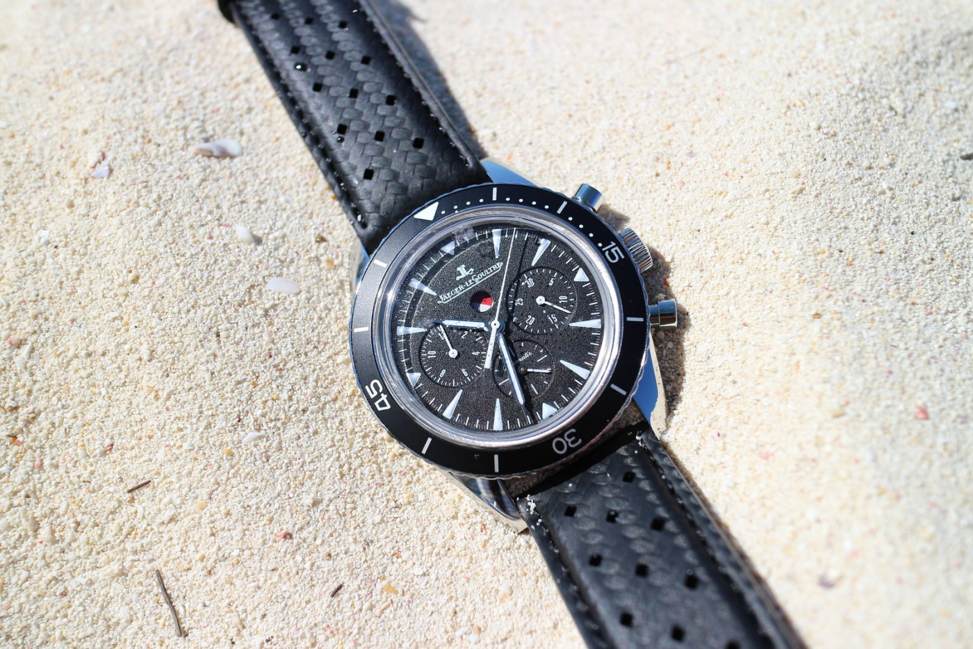 Jaeger-LeCoultre Deep Sea Chronograph in sand
