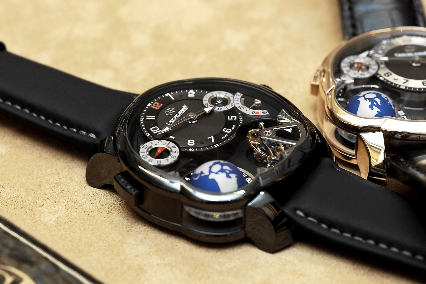 Greubel Forsey GMT Black and Gold