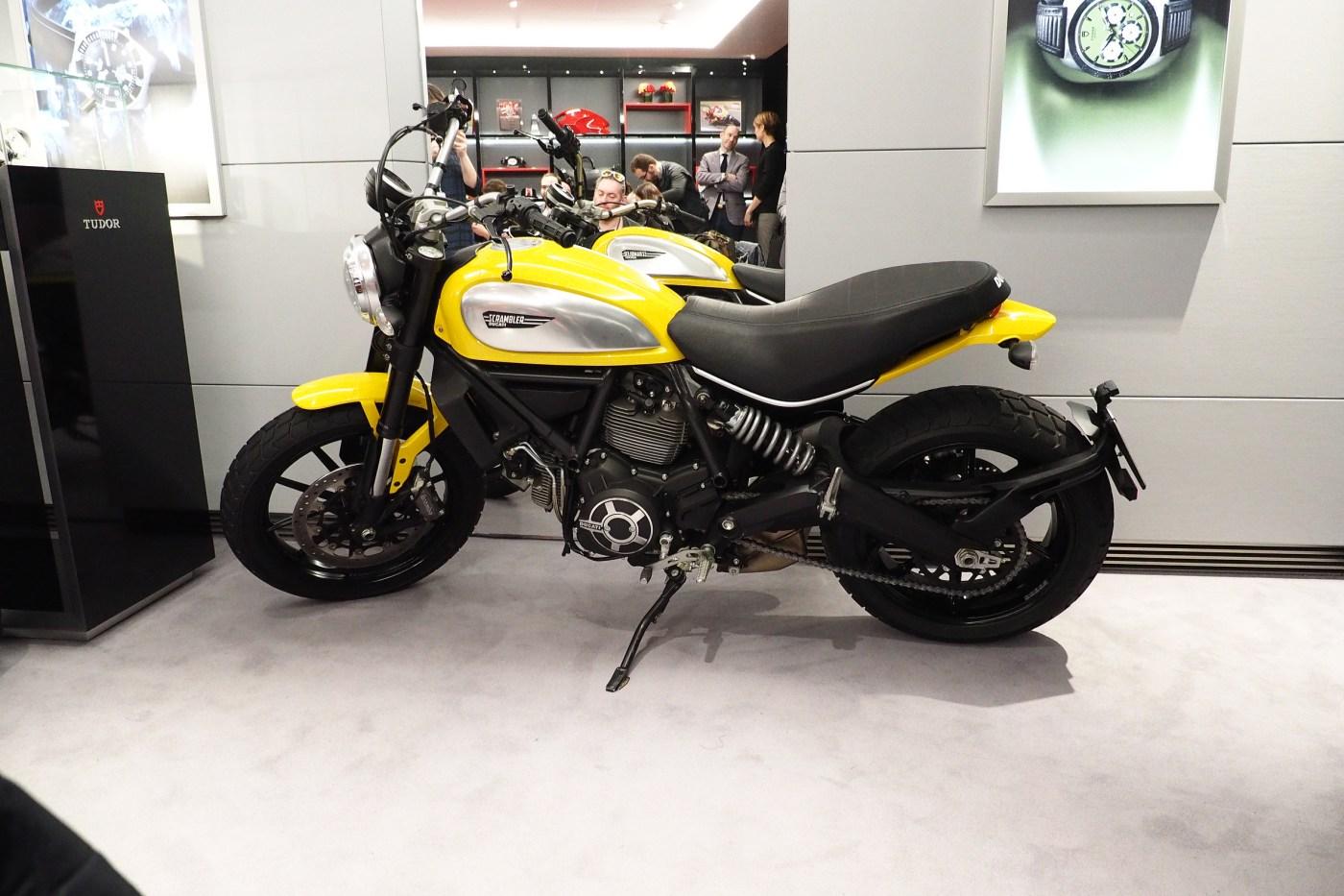 Ducati Scrambler X Tudor Fastrider Chrono