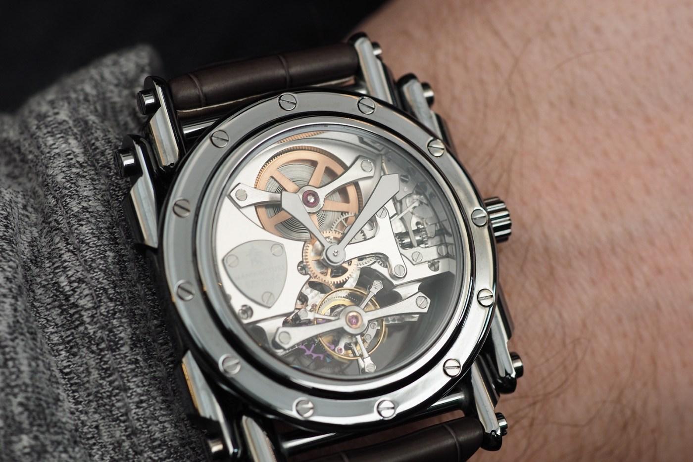 Manufacture Royale Androgyne wristshot