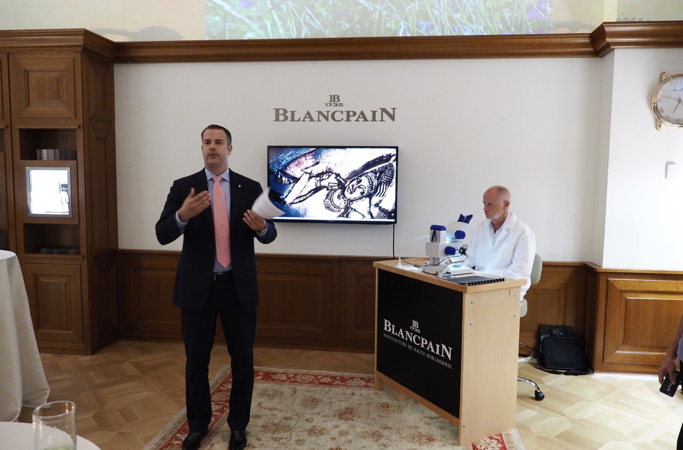 Blancpain Cocktail Party at NYC Boutique