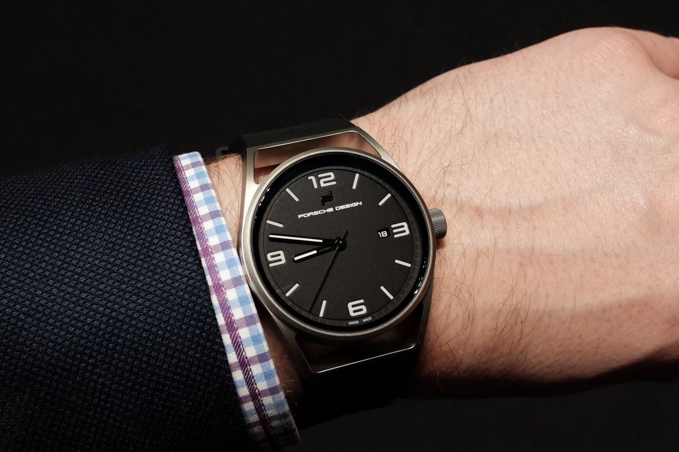Porsche Design Datetimer wristshot