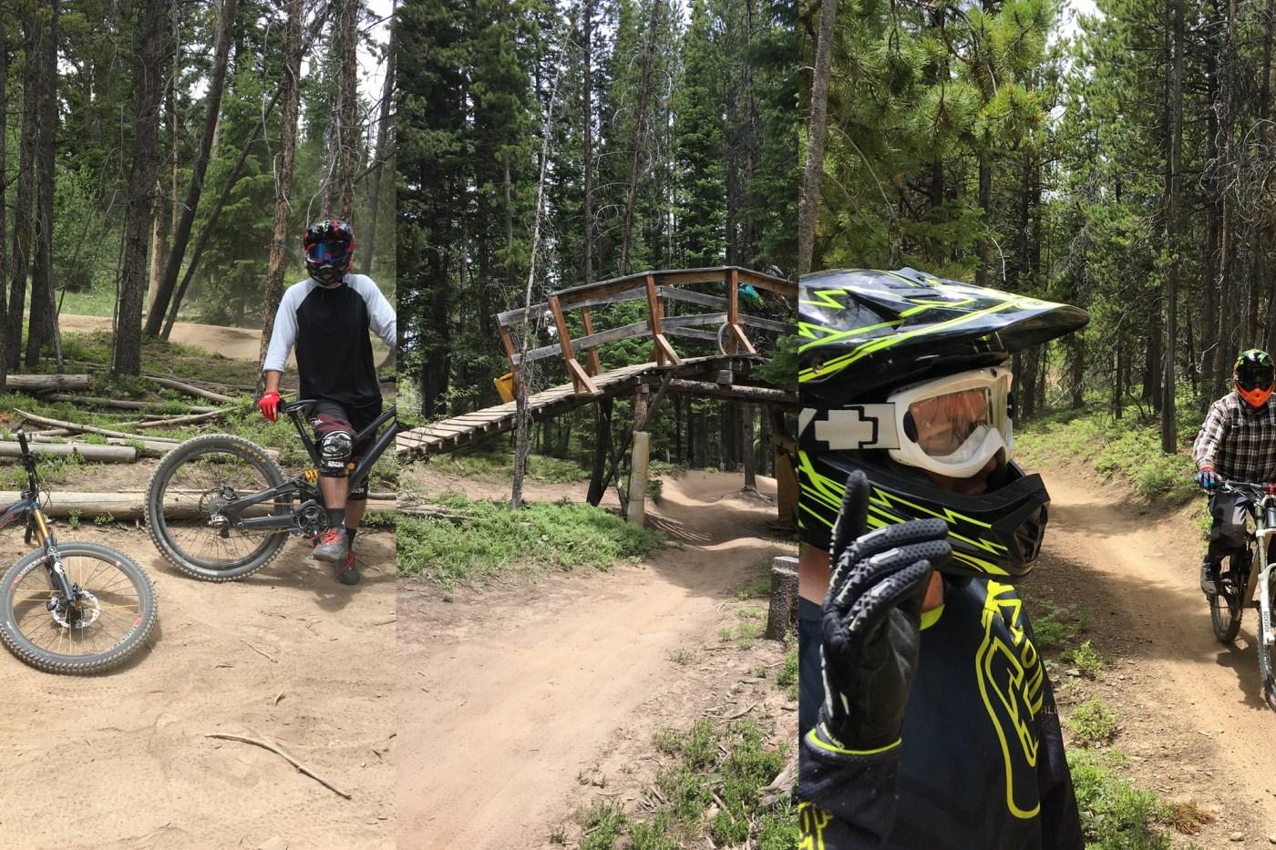 Trestle Bike Park Colorado June 2017
