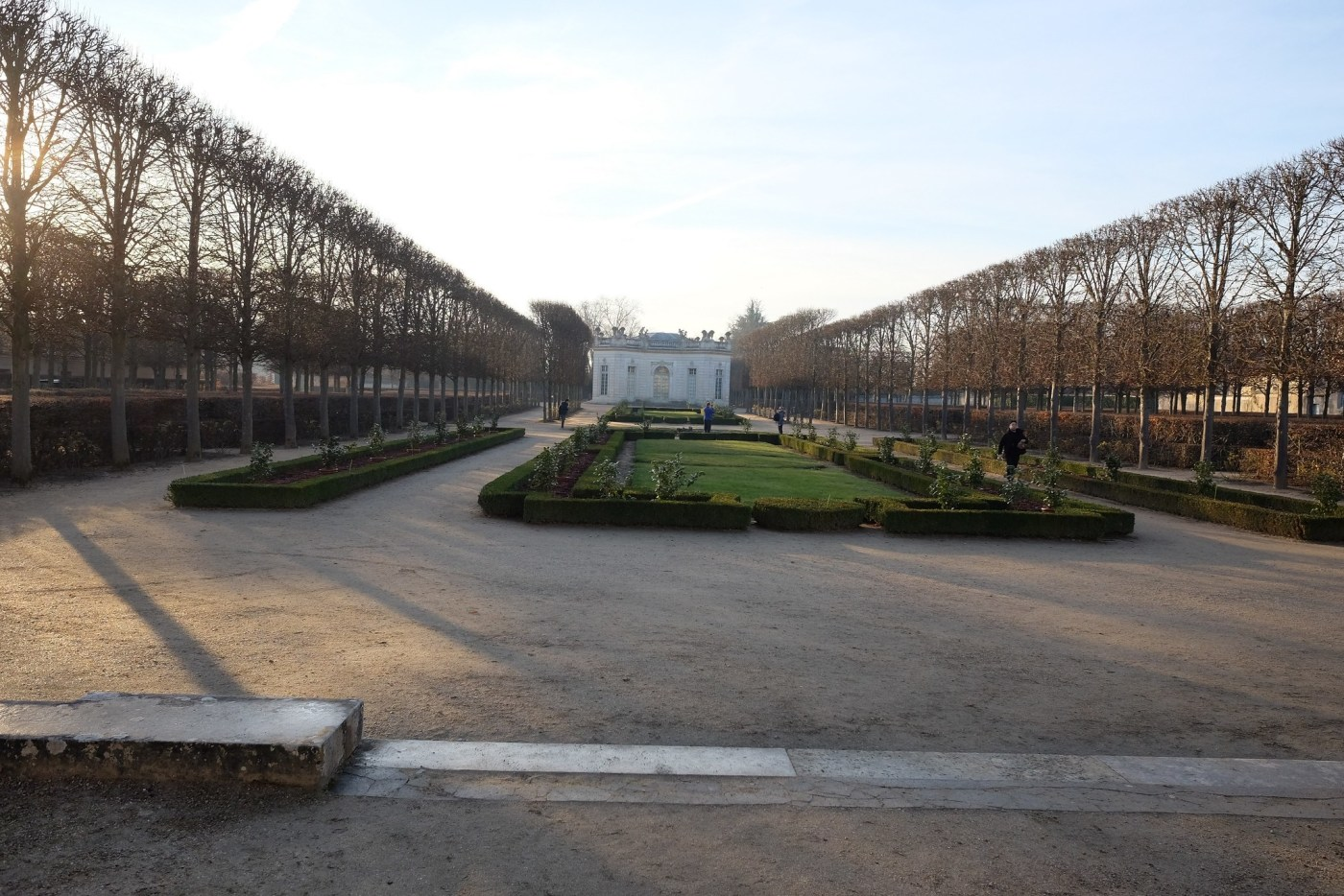 Petit Trianon located on the grounds of the Palace of Versailles