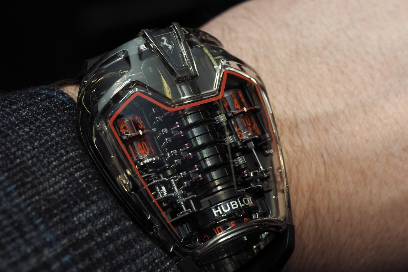 Hublot MP-05 LaFerrar Aperta wristshot