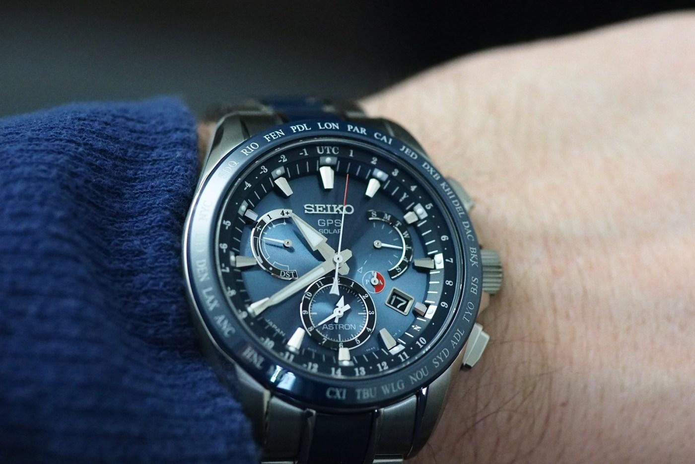 Seiko Astron GPS Solar Dual-Time