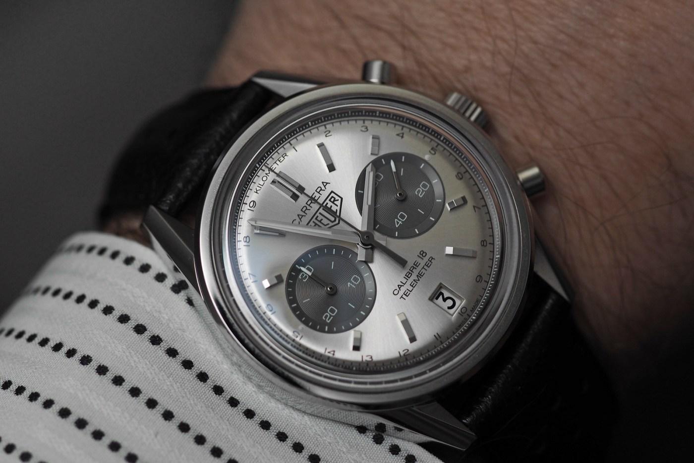 TAG Heuer Carrera Calibre 18 Automatic Chronograph wristshot