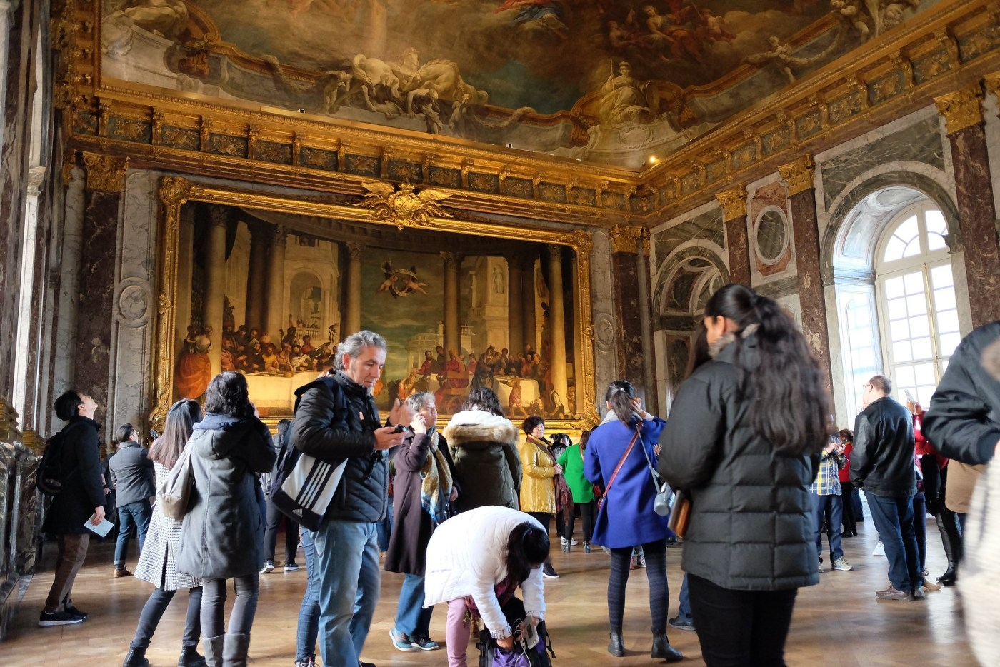 Inside Palace of Versailles