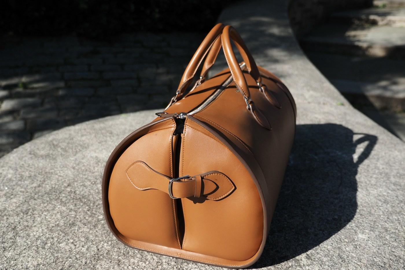 Louis Cartier 24 Hour Leather bag