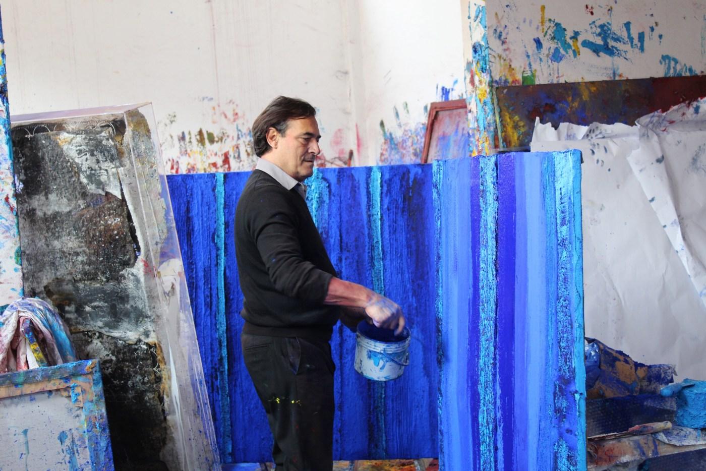 Marcello Lo Giudice painting