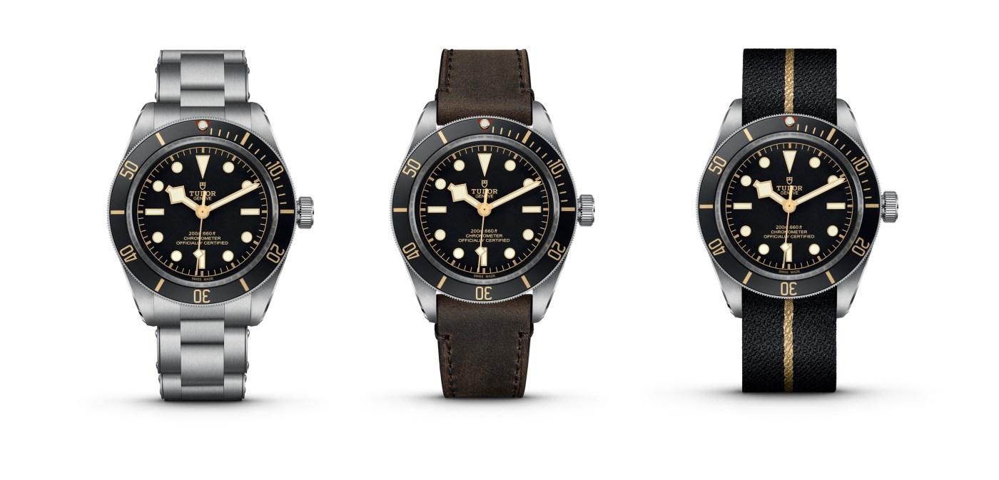 Tudor Black Bay Fifty-Eight models