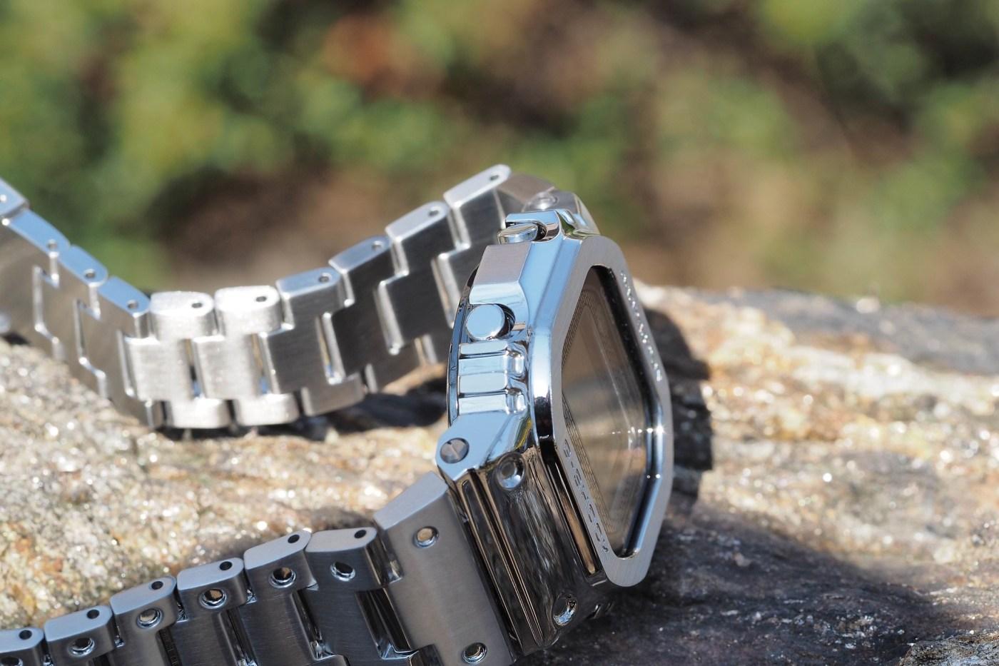 G-Shock Full Metal 5000 Series Stainless Steel