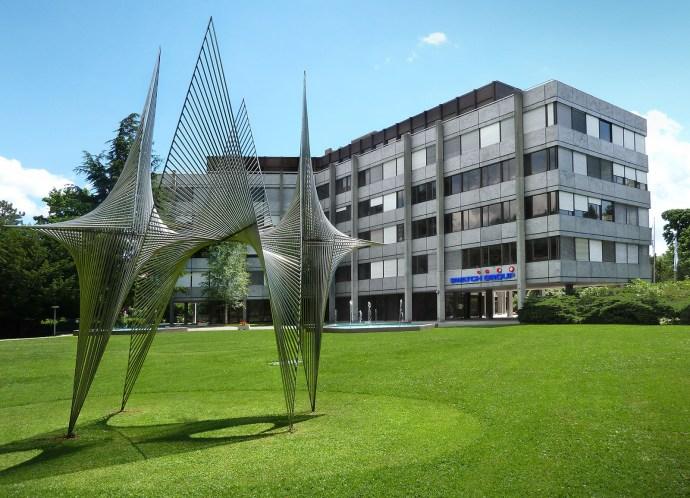 Swatch Group HQ Biel Bienne