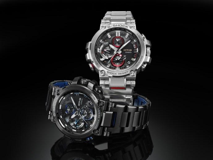 Casio G-SHOCK MT-G metal bracelet