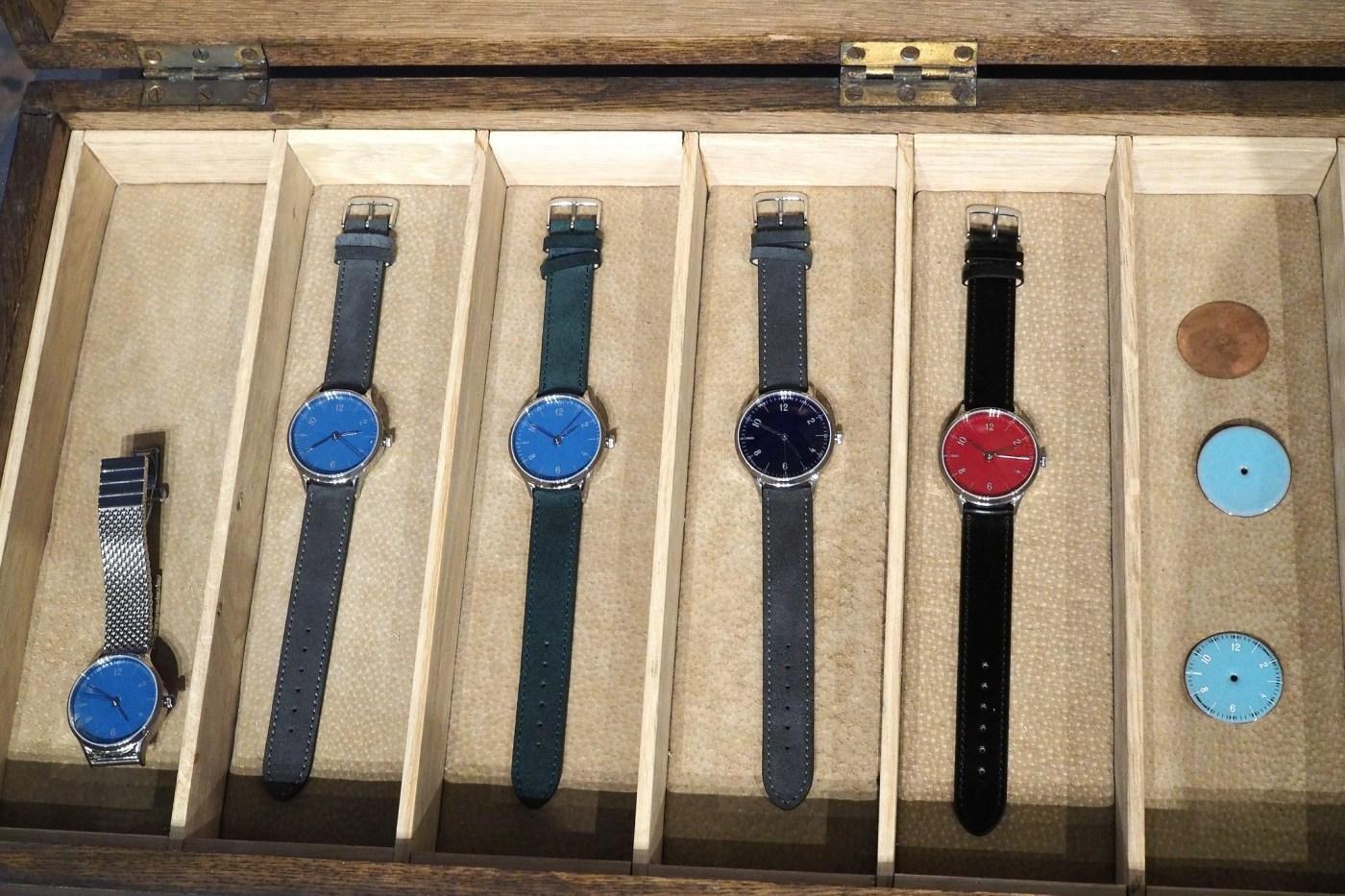 Anordain Scottish Enamel dial watches