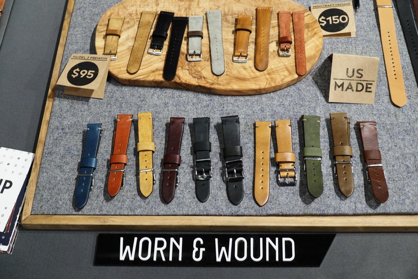 Worn & Wound Premium leather watch straps