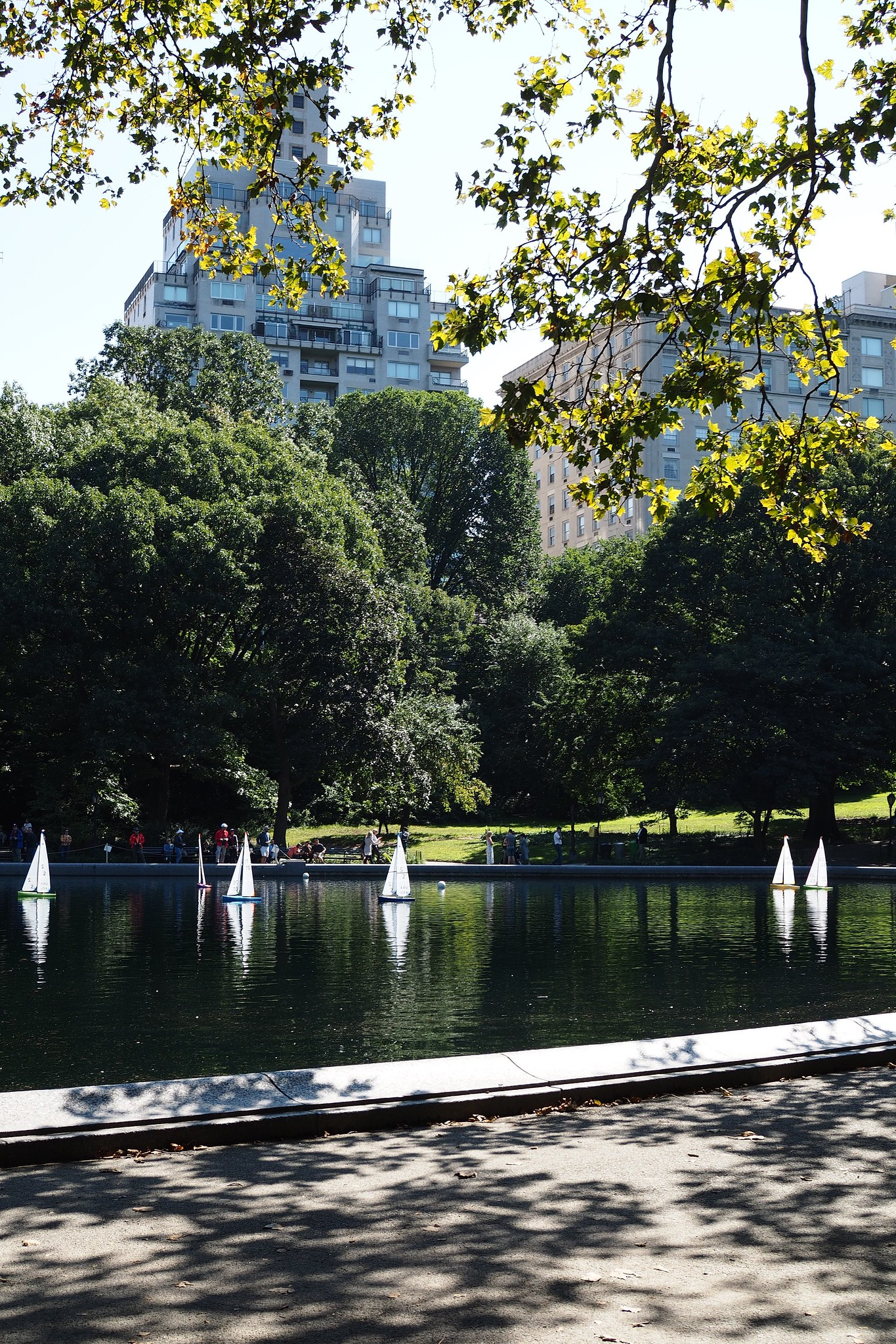 Central Park radio-controlled boats