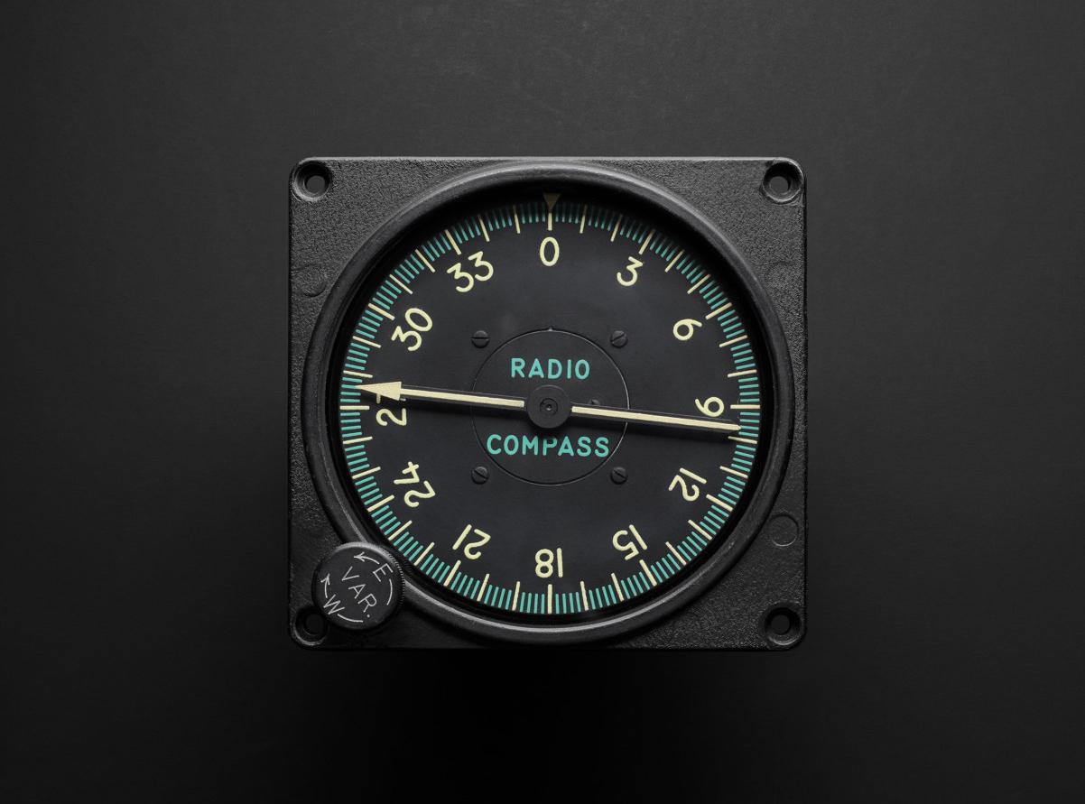 Airplane Radio Compass