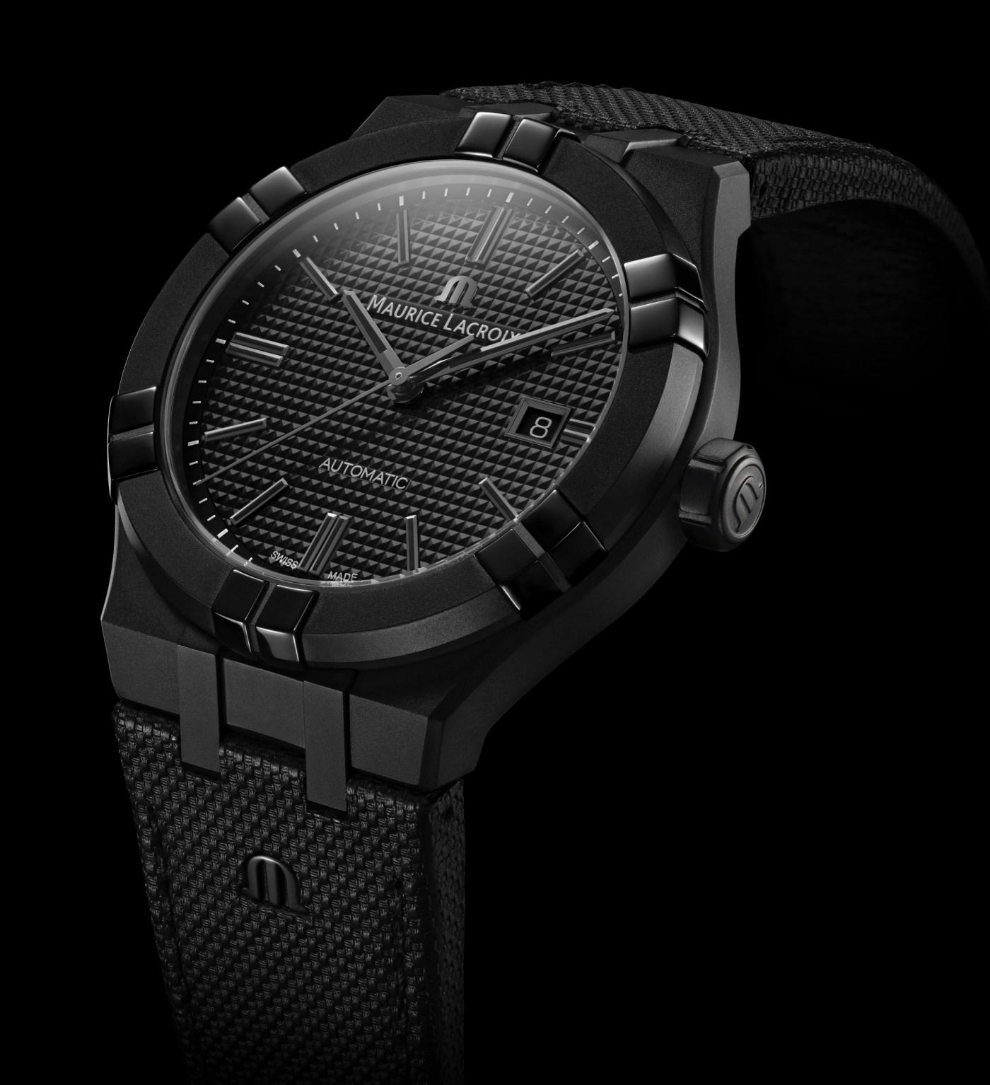 Maurice Lacroix Aikon Automatic Black PVD Steel