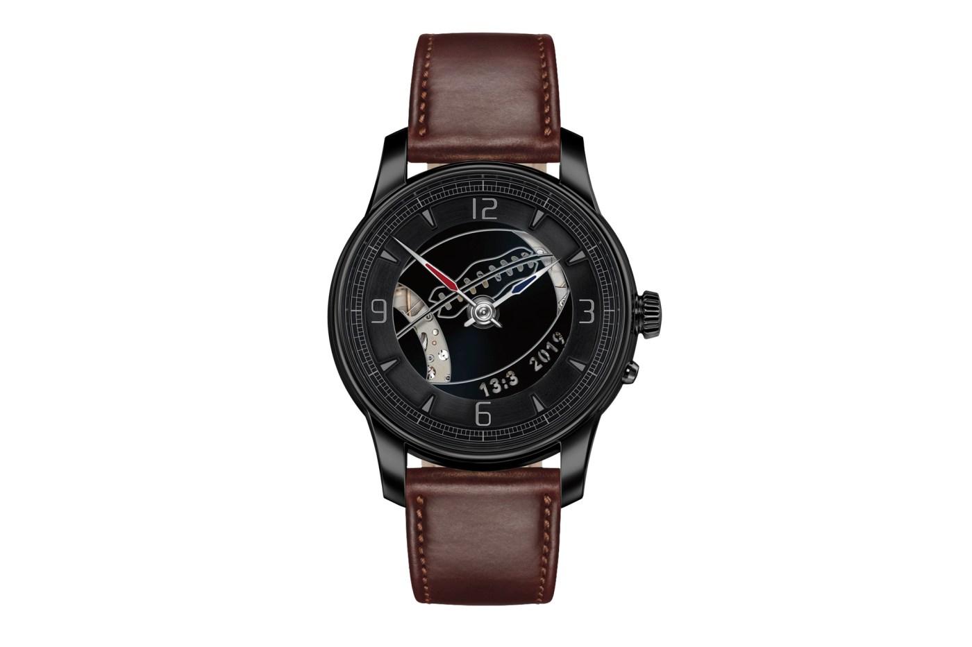 Moritz Grossmann Super Bowl LIII Atum Pure X watch