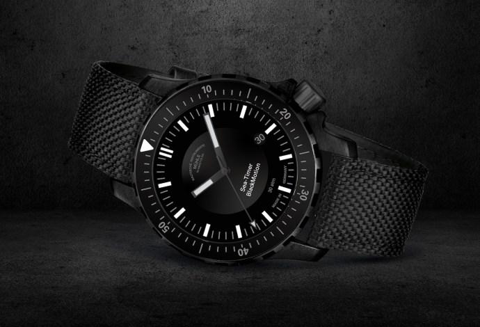Mühle-Glashütte Sea-Timer BlackMotion