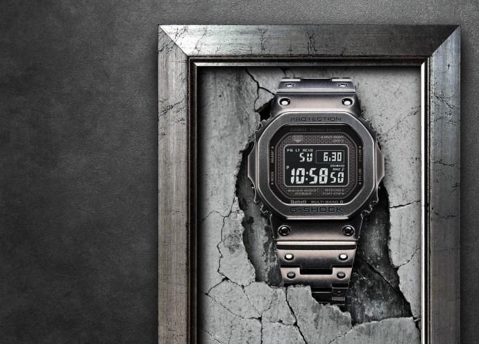 Black Aged IP Full Metal G-Shock