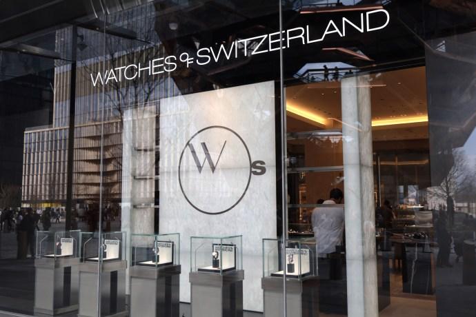 Watches of Switzerland Hudson Yards 2019 cover