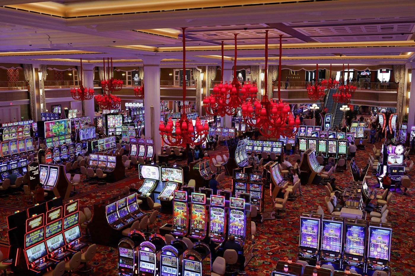 Encore Boston Harbor Casino floor
