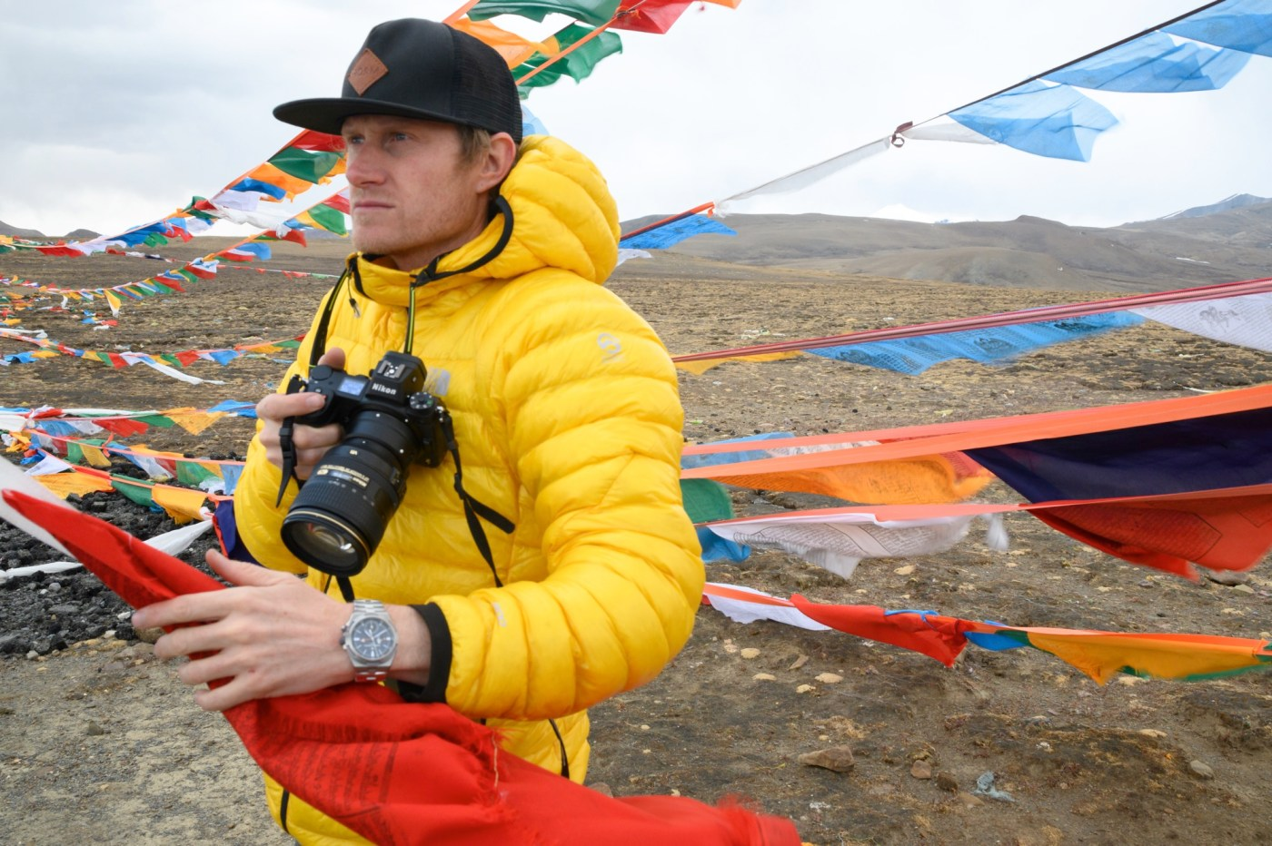 Cory Richards overseas dual-time-7910v-000t-b603 copykeithladzinsk on Everest