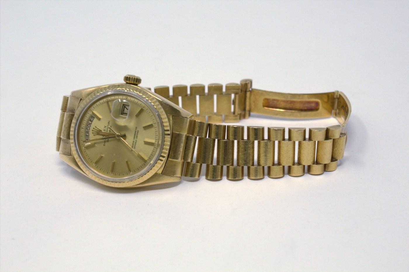 Rolex Yellow Gold Day-Date at Chronoexpert