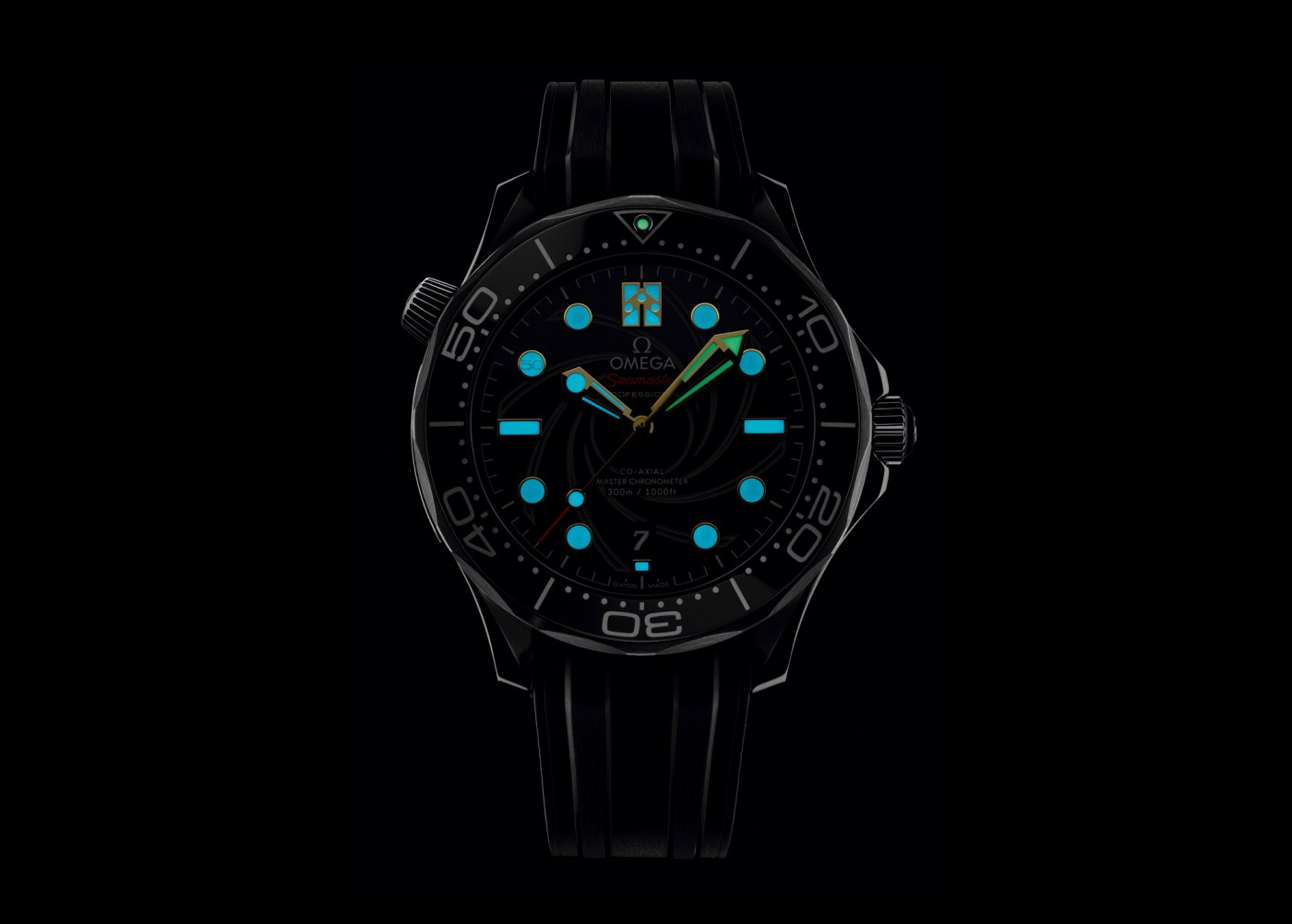2019 Limited Edition Omega Bond Seamaster