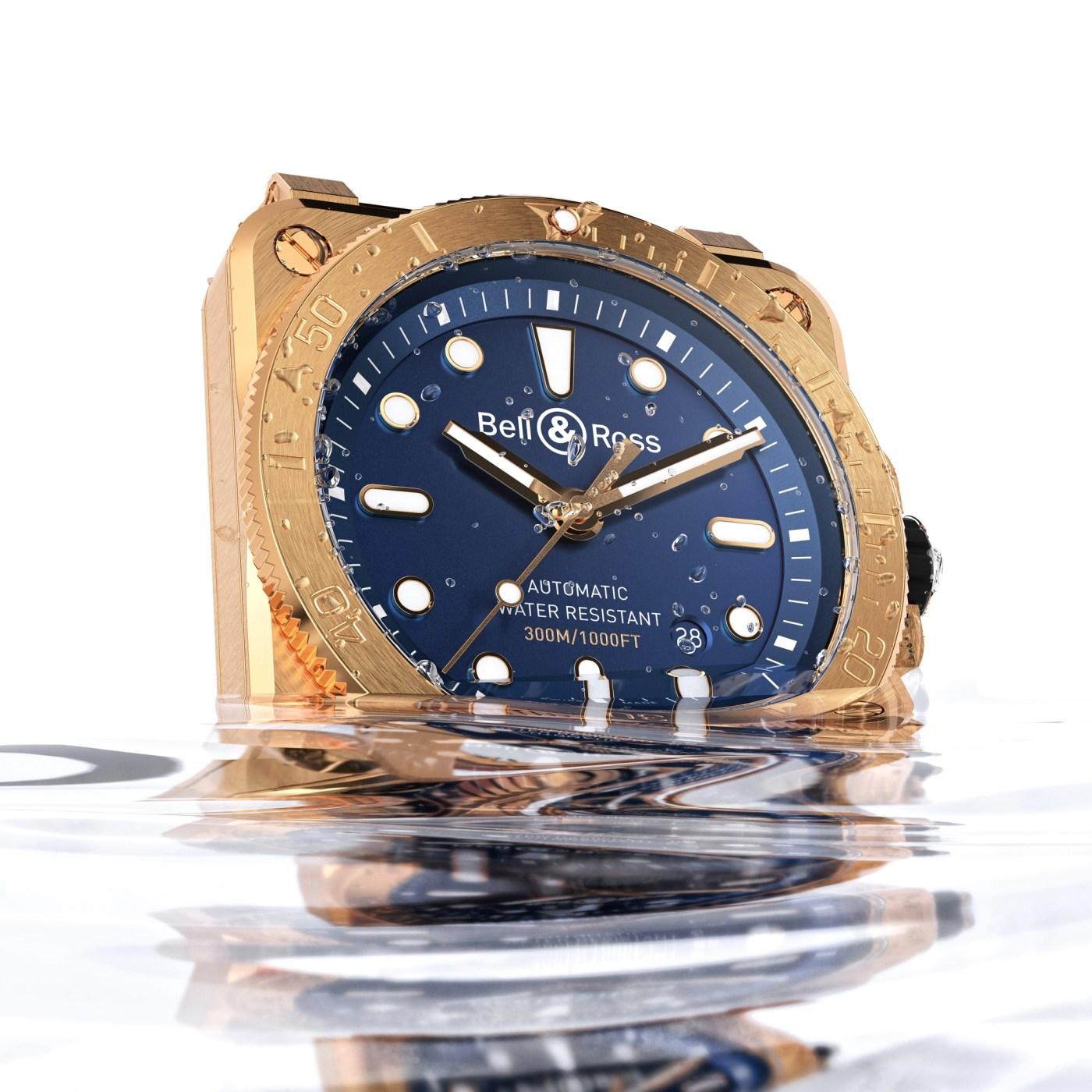 BR03-92 Diver in Bronze