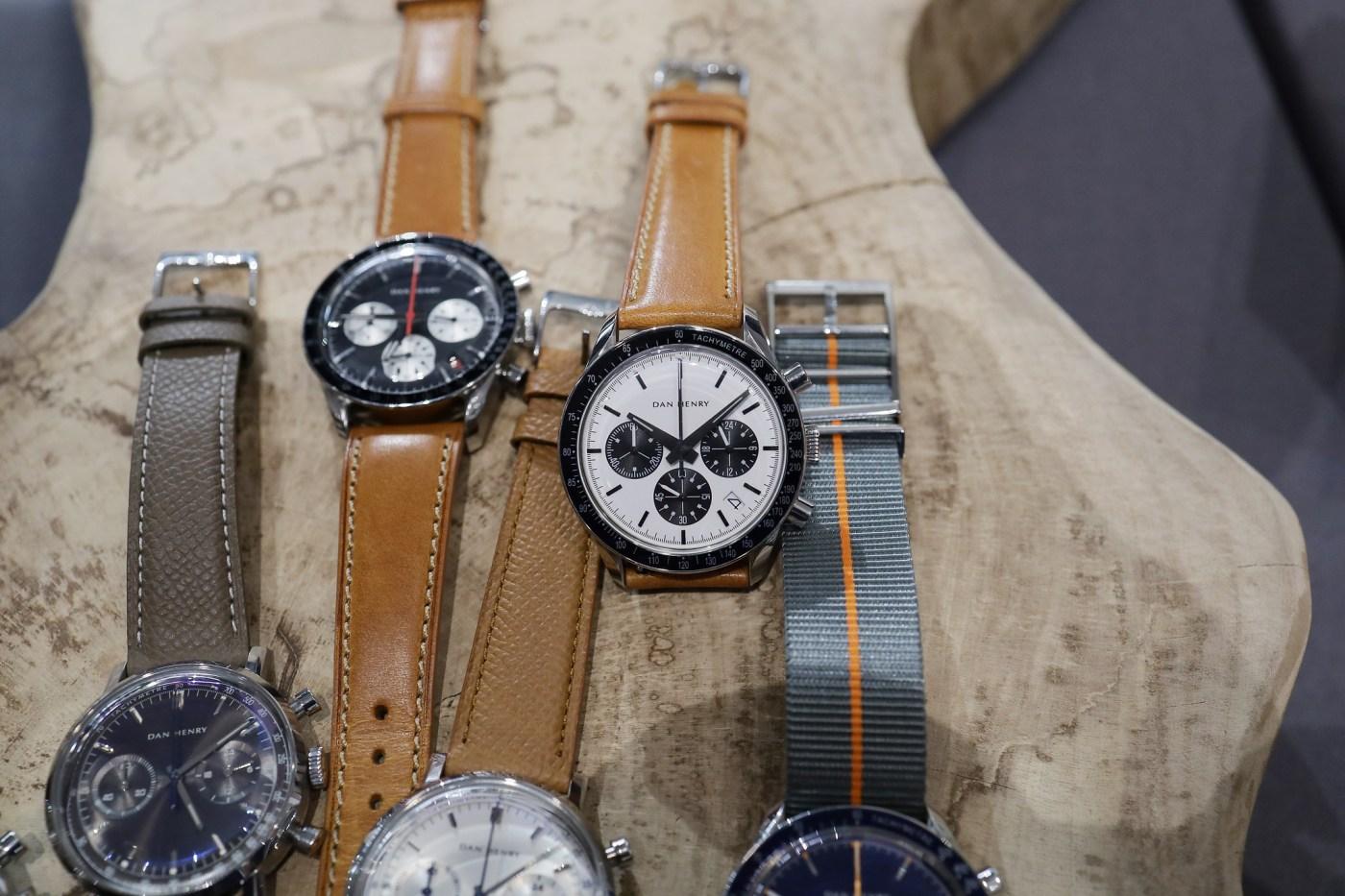 Dan Henry chronographs at Windup