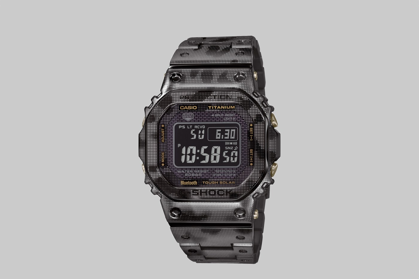 G-Shock titanium camo GMWB5000TCM-1