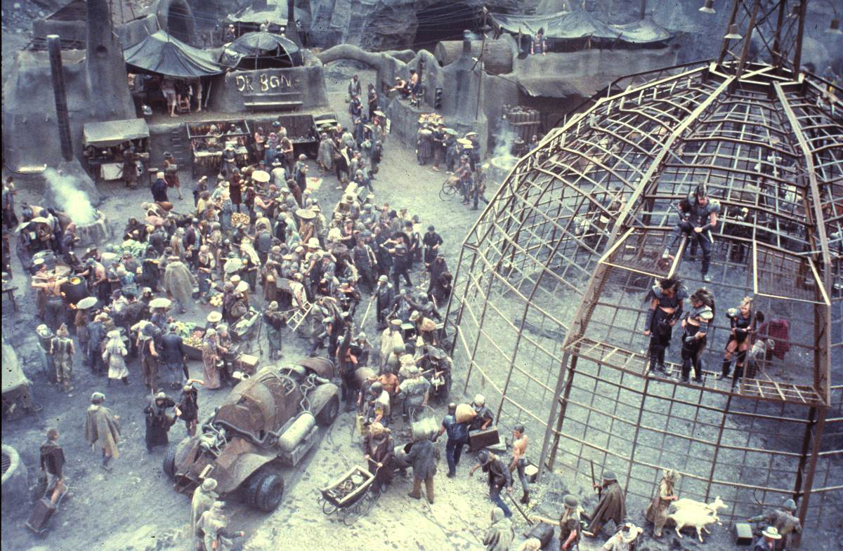 Batertown and the Thunderdome