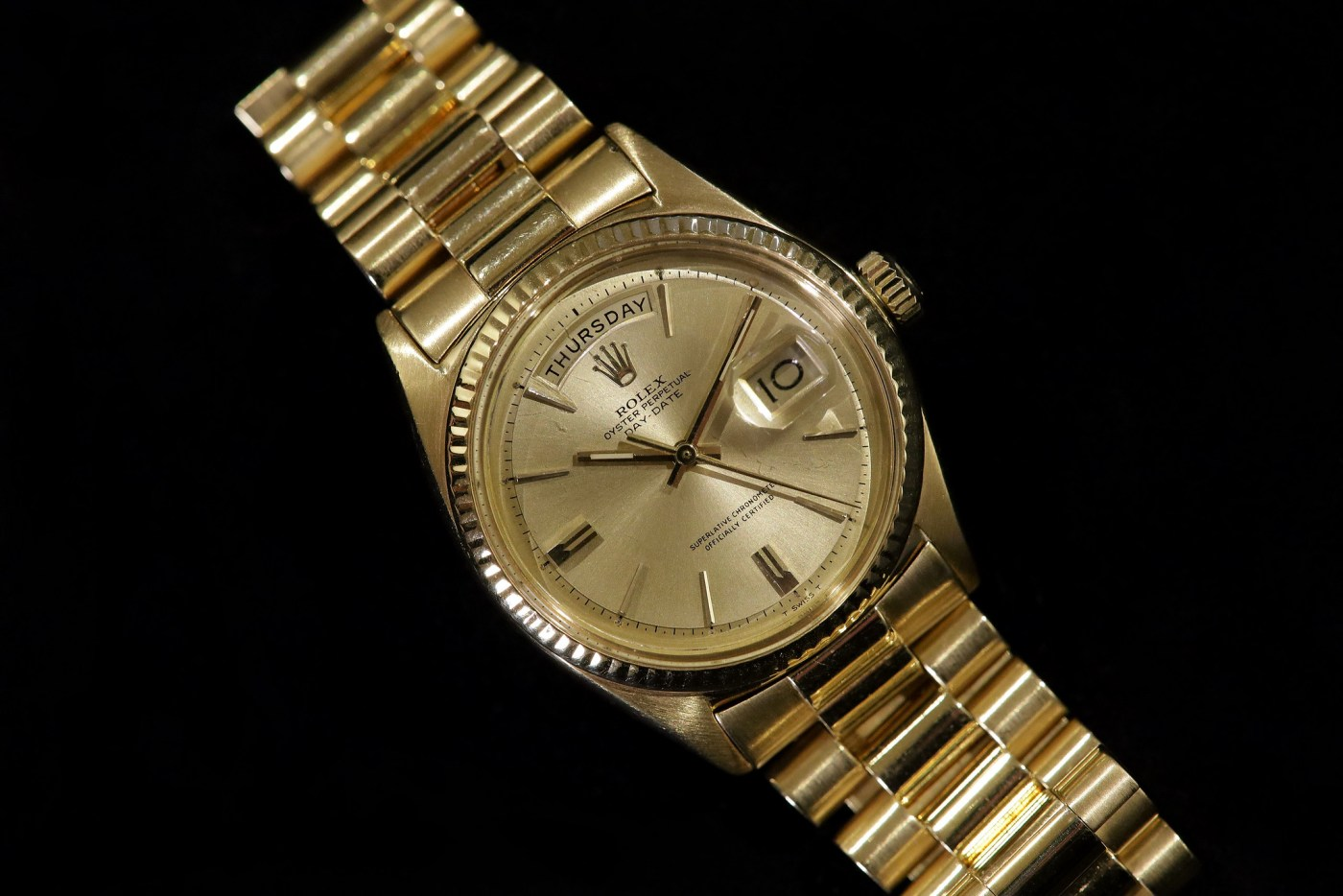 Jack Nicklaus 1967 Yellow Gold Rolex Day-Date Ref. 1803