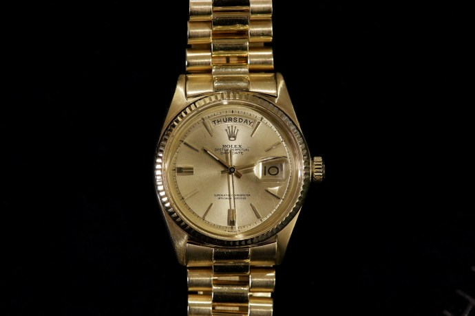 Jack Nicklaus Yellow Gold Rolex Day-Date Ref. 1803