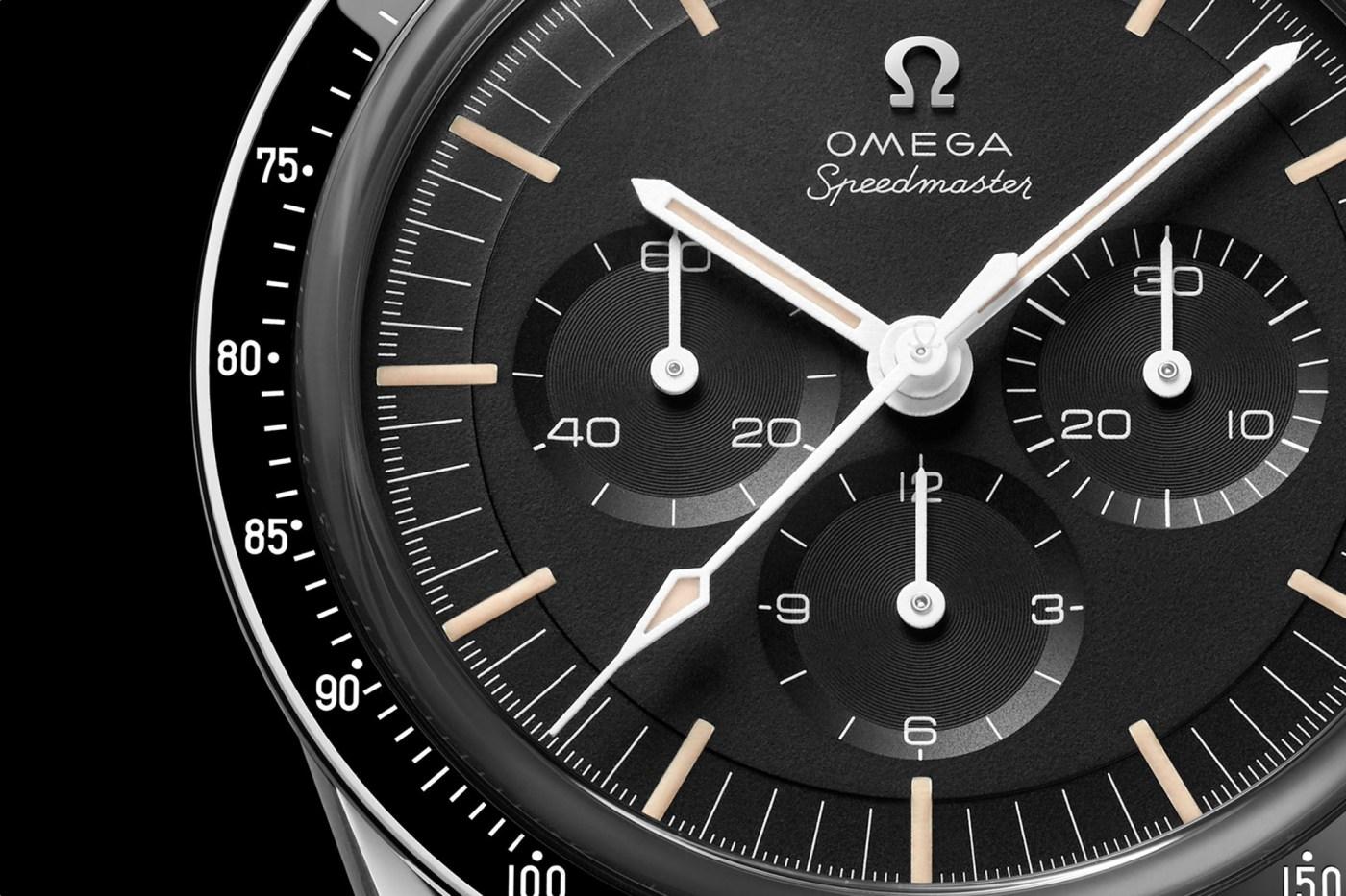 Omega Speedmaster Ed White 2020 dial closeup