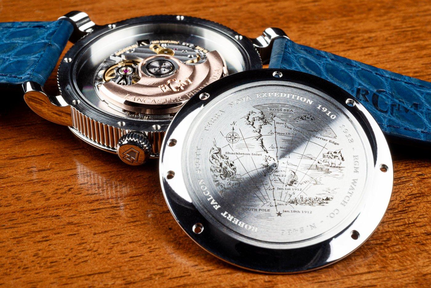 "RGM Model 25 ""Terra Nova"" caseback"