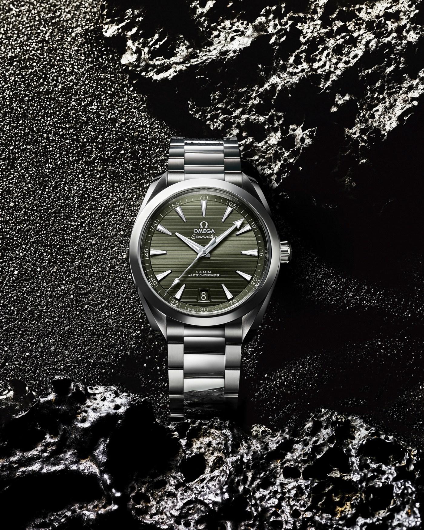 2020 Omega Aqua Terra Green