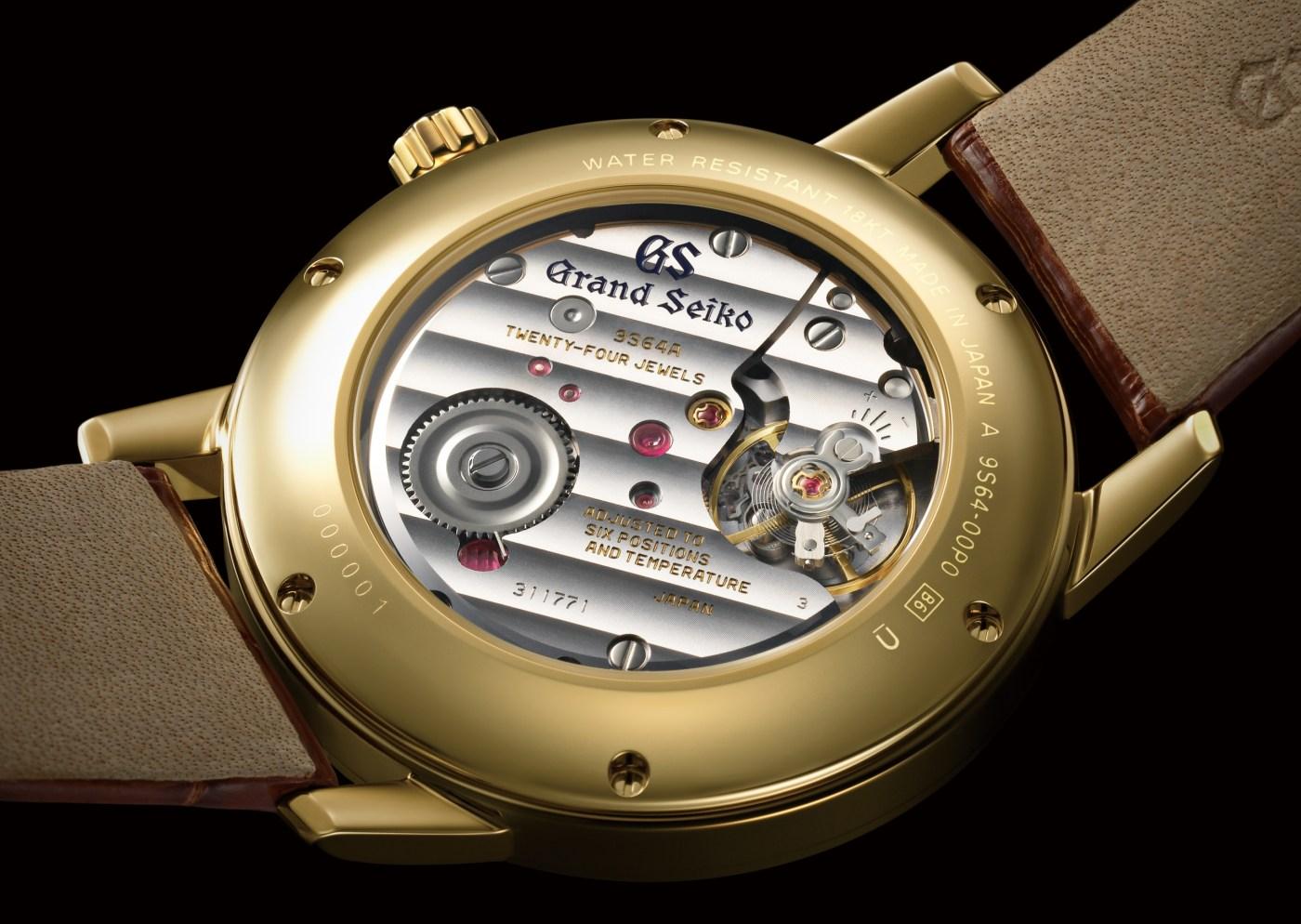 Grand Seiko SBGW258 caseback