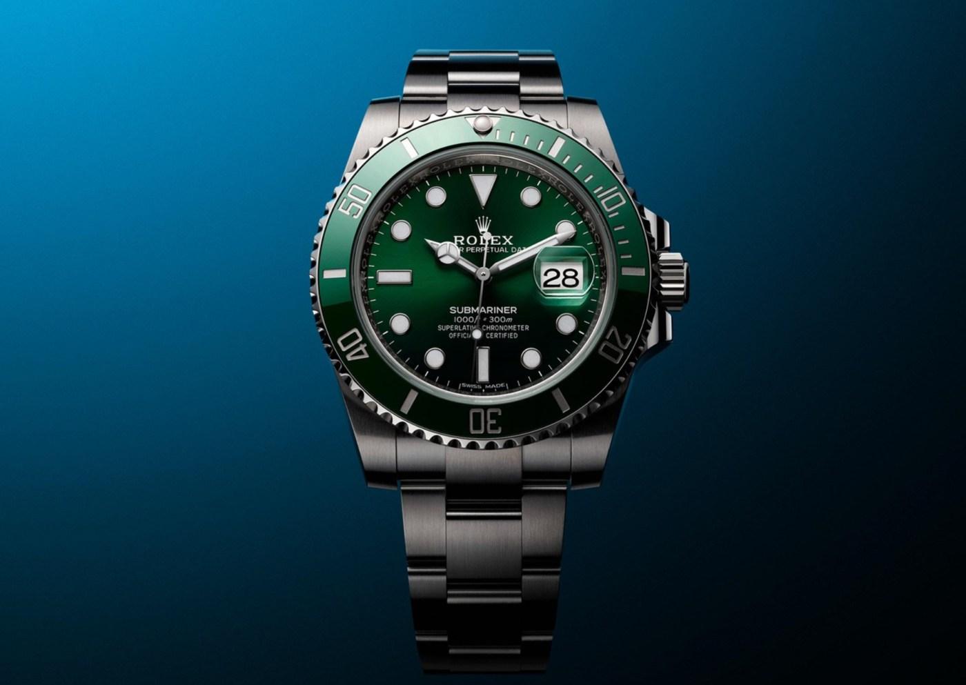 Rolex Green Submariner 116610LV Hulk