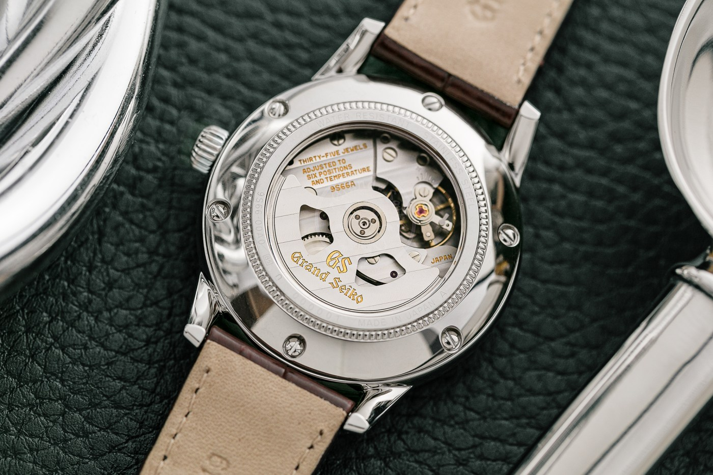 """Grand Seiko x Watches of Switzerland """"Toge"""" Special Edition caseback"""