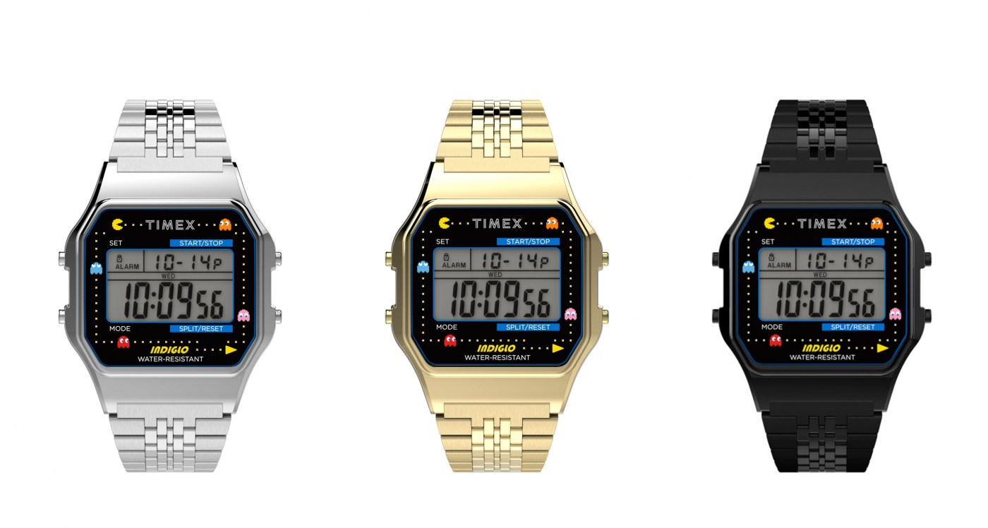 2020 Timex x Pacman T80 all references