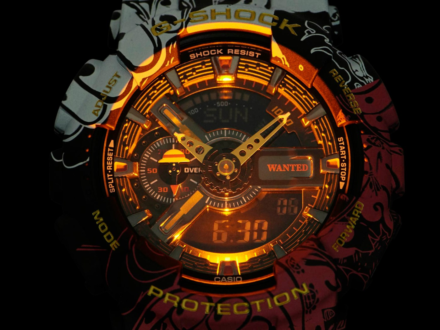 G-Shock x One Piece