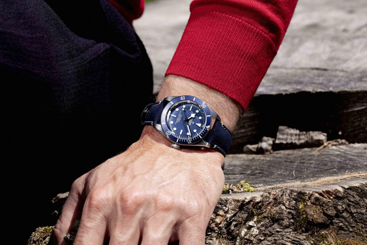 Tudor Black Bay Fifty-Eight Navy Blue wristshot