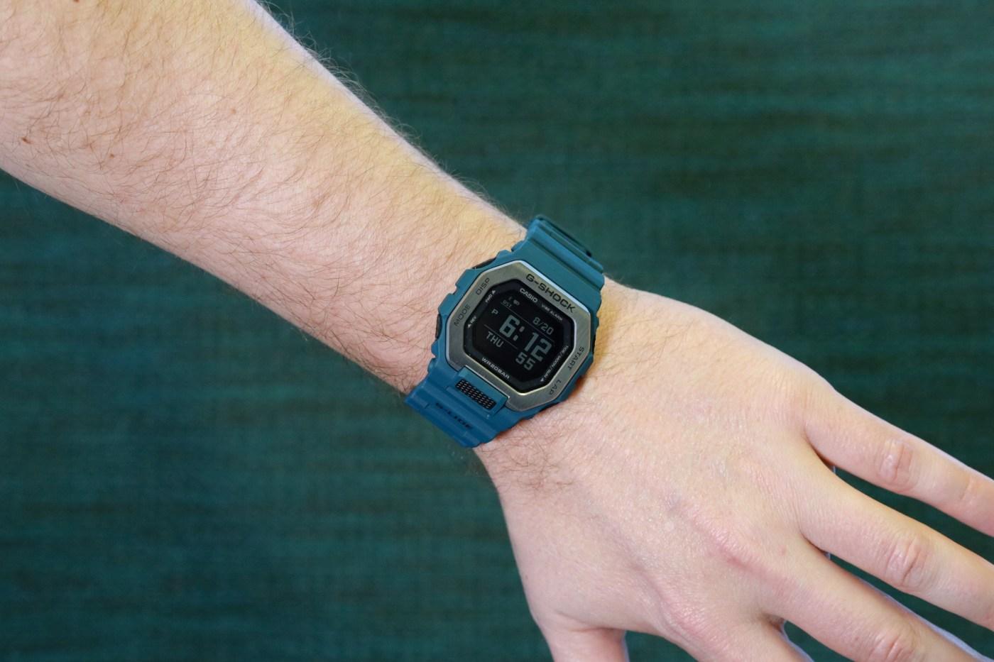 G-Shock GBX100-2 wristshot